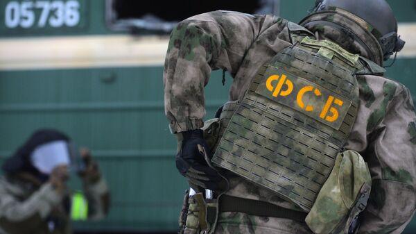 Припадник Федералне службе безбедности Русије (ФСБ) - Sputnik Србија
