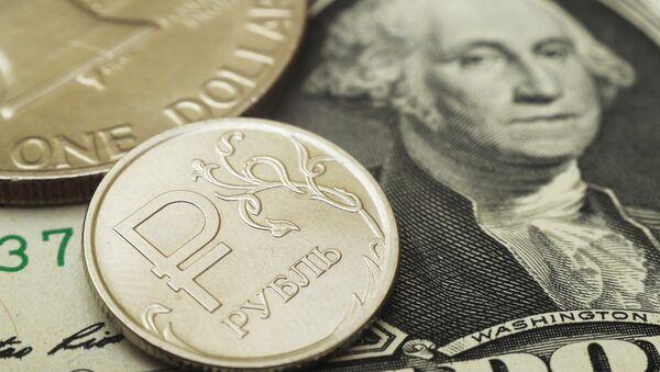 Руске рубље и амерички долари - Sputnik Србија