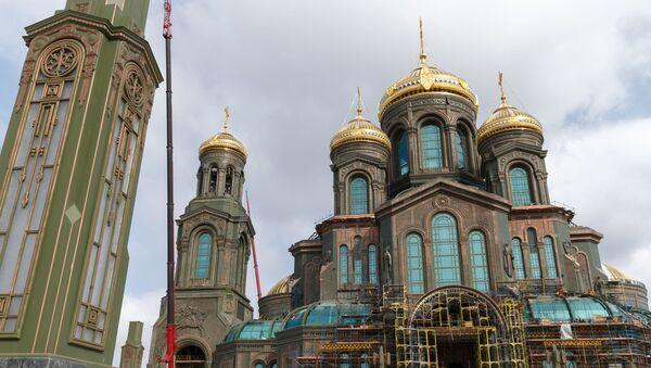 Crkva Vaskrsenja Hristovog, glavni hram Oružanih snaga Rusije - Sputnik Srbija