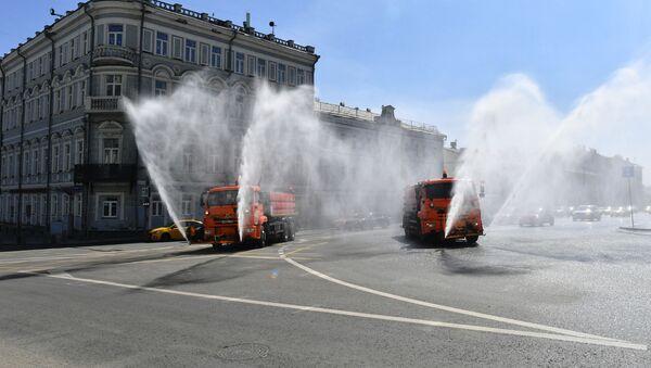 Дезинфекција Москве - Sputnik Србија
