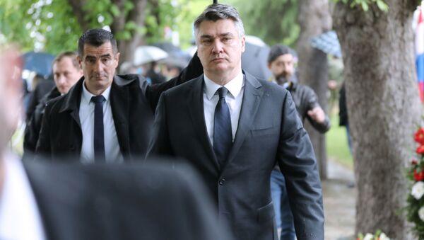 Zoran Milanović - Sputnik Srbija