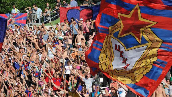 Navijači CSKA na utakmici između FK Torpedo i CSKA  - Sputnik Srbija