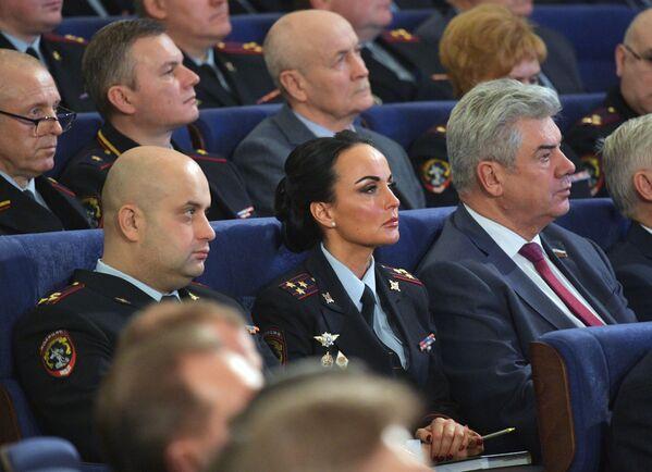 Портпаролка руског Министарства унутрашњих послова, генерал-мајор Ирина Волк. - Sputnik Србија