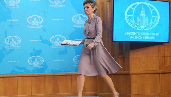 Oficialьnый predstavitelь Ministerstva inostrannыh del Rossii Mariя Zaharova - Sputnik Srbija