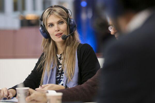 Ева Кајили, представница Панхеленског социјалистичког покрета (Грчка) у Европском парламенту. - Sputnik Србија