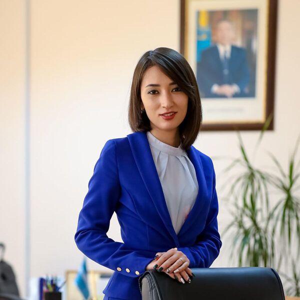 Зарина Нурланова, бивша портпаролка премијера Казахстана. - Sputnik Србија