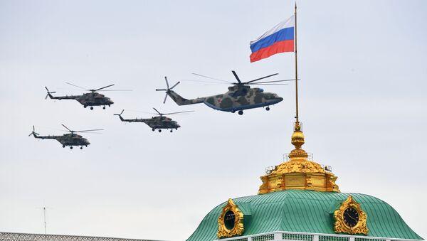 Proba parade Pobede u Moskvi - Sputnik Srbija