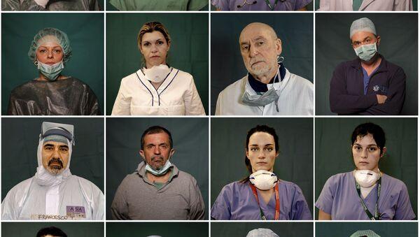 Лекари, на првој линији одбране од короне - Sputnik Србија