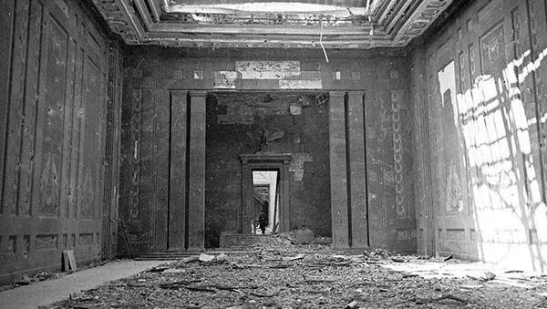 Ulaz u nadzemni deo Firerovog bunkera iz pravca dvorišta Carske kancelarije - Sputnik Srbija