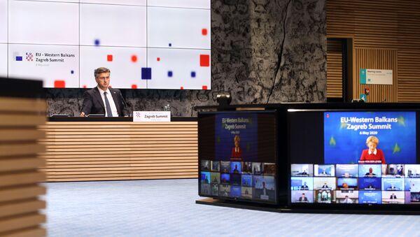 Андреј Пленковић на самиту ЕУ - Западни Балкан у Загребу - Sputnik Србија