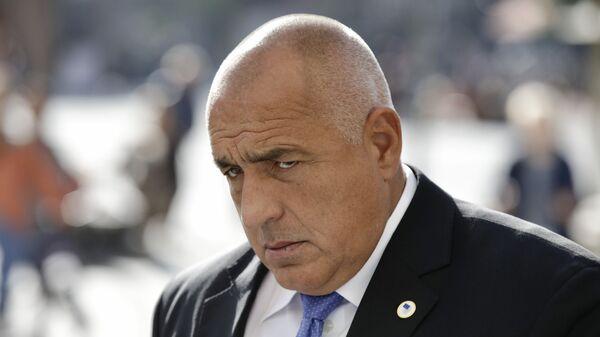 Bugarski premijer Bojko Borisov - Sputnik Srbija