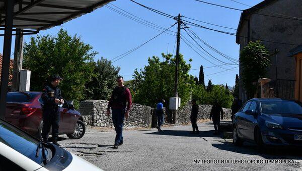 Manastir u Podgorci nadgleda policija - Sputnik Srbija
