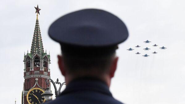 Проба ваздушне Параде победе у Москви - Sputnik Србија