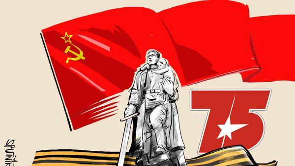Совјетски војник ― бранилац и ослободилац - Sputnik Србија