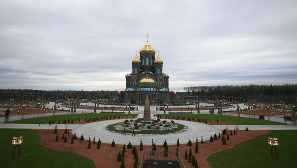 Glavni hram Oružanih snaga Ruske Federacije, Hram pobede - Sputnik Srbija