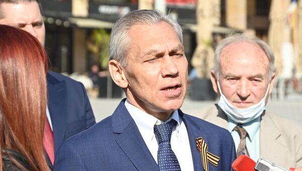 Ruski ambasador na otvaranju izložbe - Sputnik Srbija