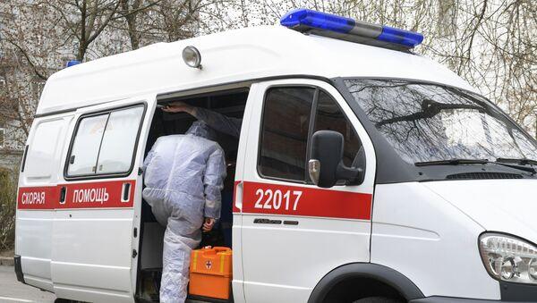 Kola hitne pomoći u Rusiji - Sputnik Srbija