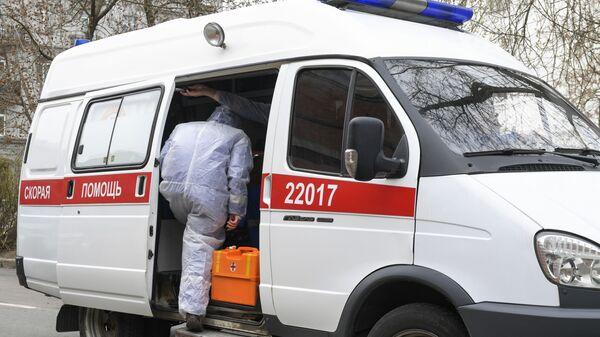 Кола хитне помоћи у Русији - Sputnik Србија