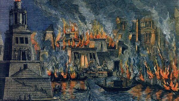 Požar u Aleksandriji - Sputnik Srbija