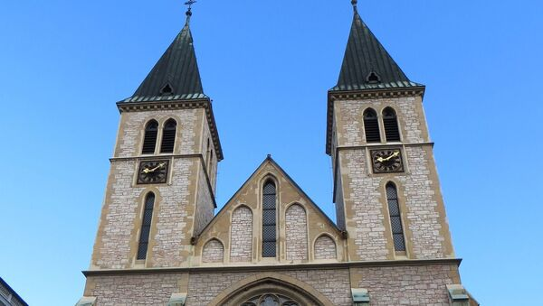 Katedrala Srca Isusova u Sarajevu - Sputnik Srbija