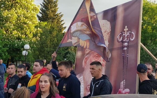 Vernici u Svetovasilijevskoj litiji u Nikšiću - Sputnik Srbija