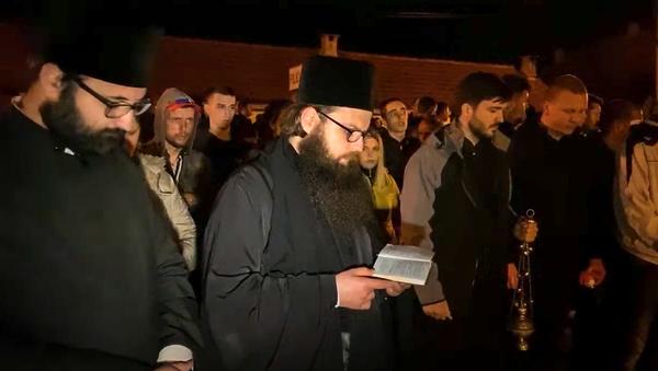 Читање молитве у Никшићу - Sputnik Србија