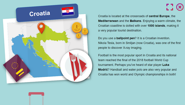 Hrvatska na mapi na sajtu EU - Sputnik Srbija