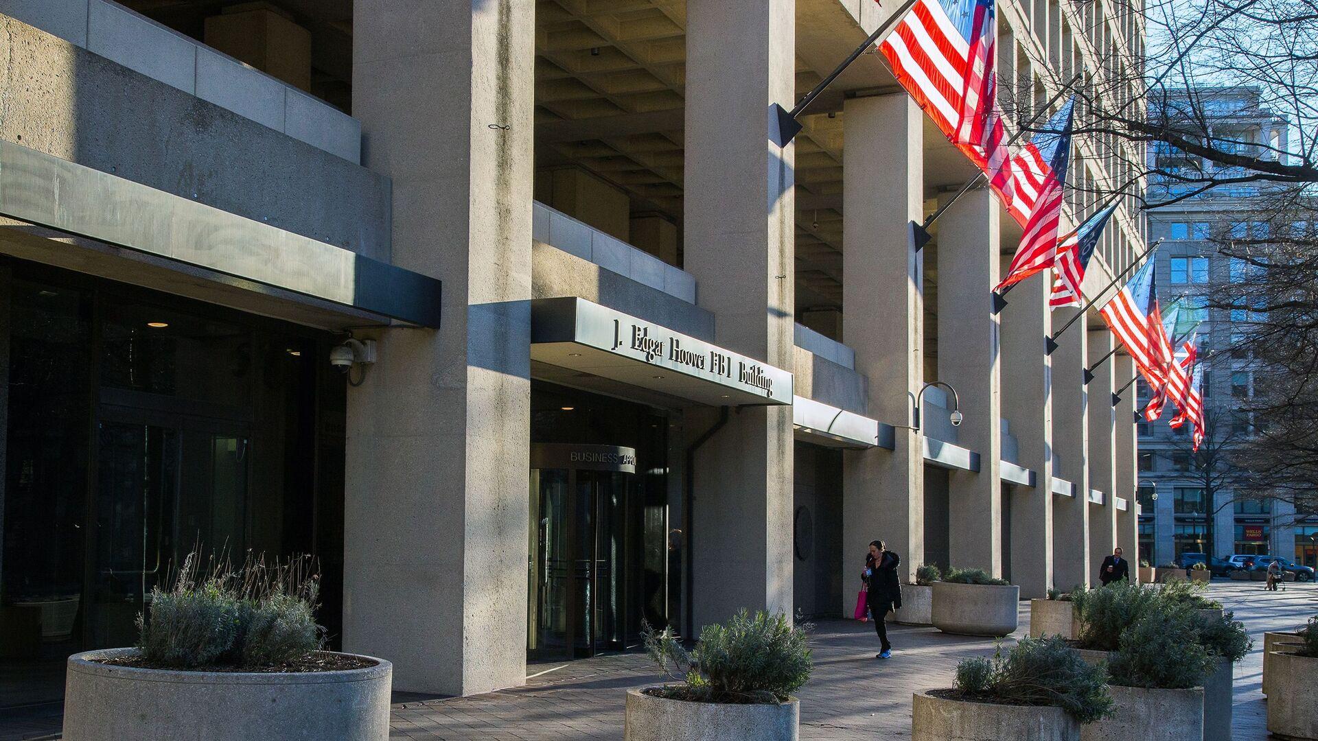 Zgrada Federalnog istražnog biroa (FBI) u Vašingtonu - Sputnik Srbija, 1920, 27.02.2021