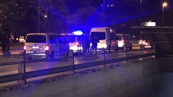 Полиција испред Храма Христовог спасења - Sputnik Србија