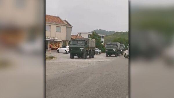 Војна возила у Црној Гори - Sputnik Србија