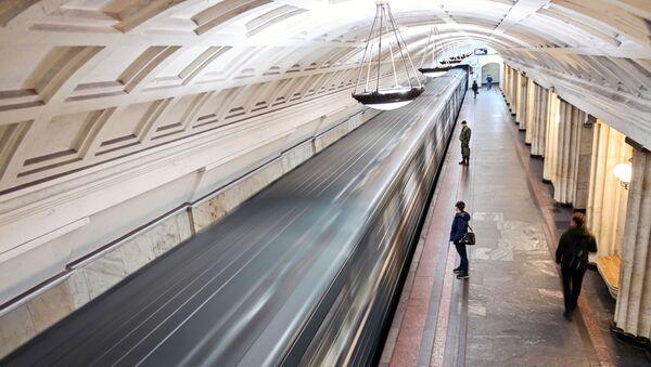 Putnici na stanici metroa - Sputnik Srbija