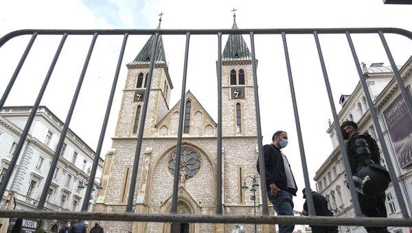 Катедрала Срца Исусова у Сарајеву - Sputnik Србија