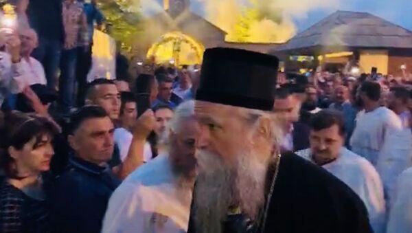 Vladika Joanikije u Beranama - Sputnik Srbija