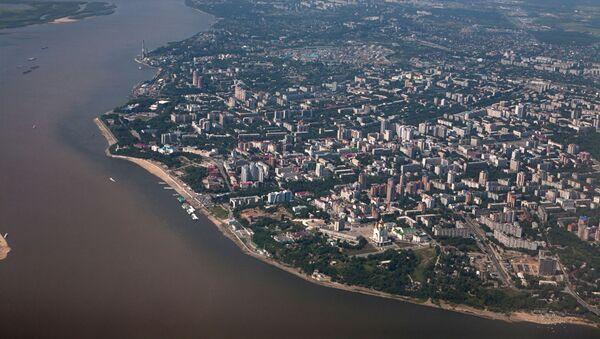 Pogled na Habarovsk i reku Amur - Sputnik Srbija