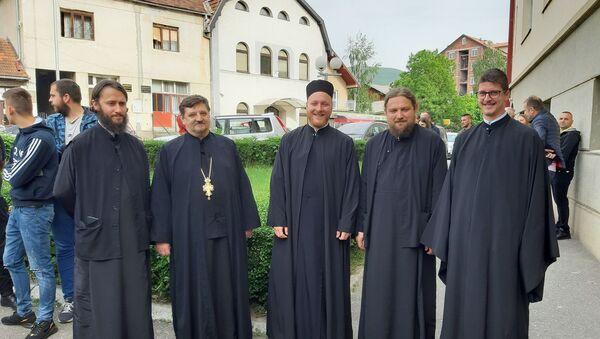 Берански свештеници на саслушању - Sputnik Србија