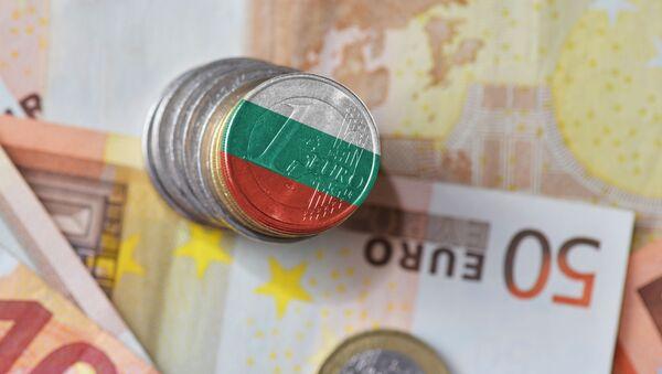 Евро у боји бугарске заставе - Sputnik Србија