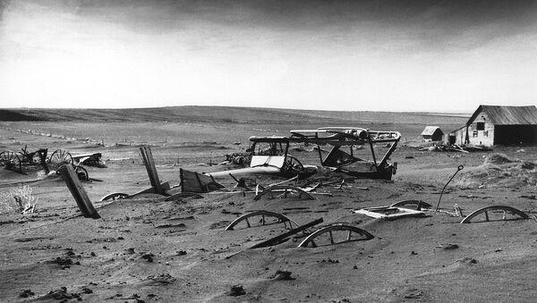 Peščana oluja tridesetih godina u SAD - Sputnik Srbija