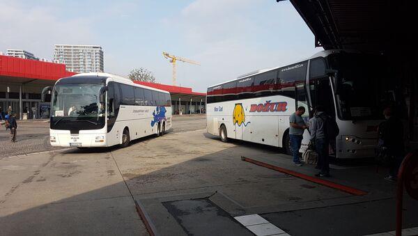 Autobusi na Beogradskoj autobuskoj stanici (BAS) - Sputnik Srbija