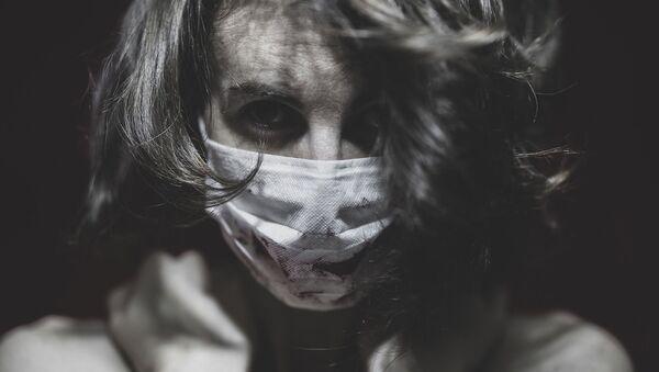 Жена са маском. - Sputnik Србија