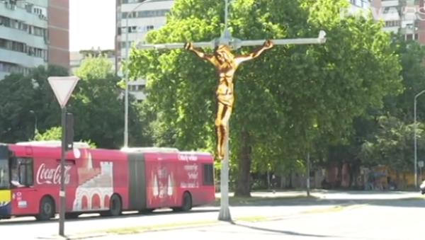 Распеће Исуса Христа на Новом Београду - Sputnik Србија