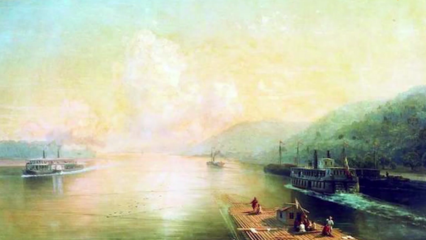 Reka Volga - Sputnik Srbija
