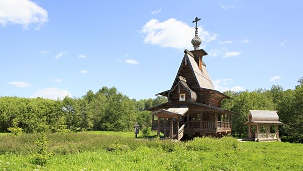 Crkva 40 mučenika Sevastejskih, Moskovska oblast - Sputnik Srbija