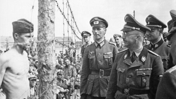 Хајнрих Химлер у посети концентрационом логору - Sputnik Србија