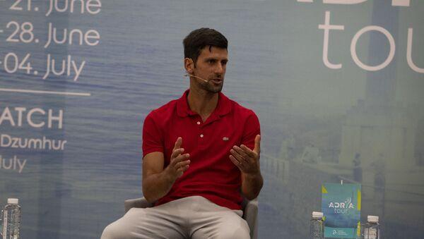 Novak Đoković - Beograd - Sputnik Srbija