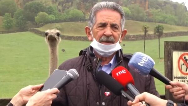 Migel Anhel Revilja, španski političar, predsednik pokrajine Kantabrija - Sputnik Srbija
