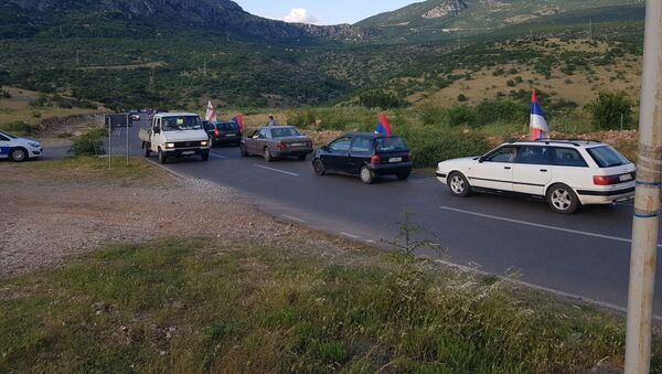 Ауто-литија из Куча до Подгорице - Sputnik Србија