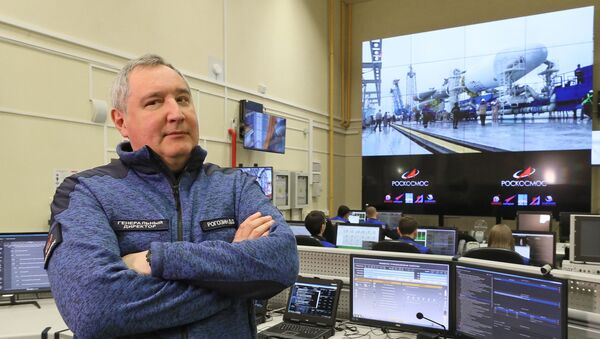Генерални директор руске свемирске корпорације Роскосмос Дмитриј Рогозин - Sputnik Србија