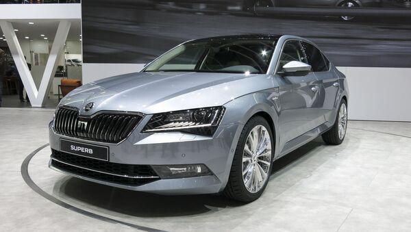 Аутомобил шкода суперб - Sputnik Србија