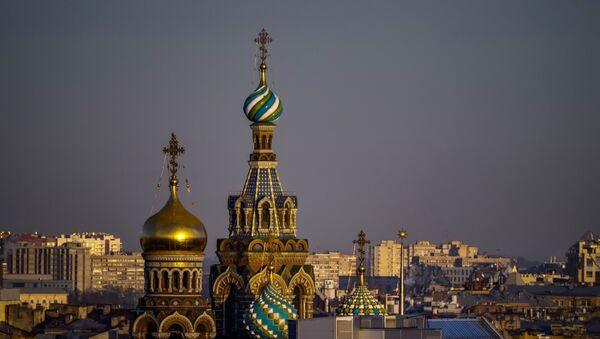Kupole hrama u Sankt Peterburgu - Sputnik Srbija