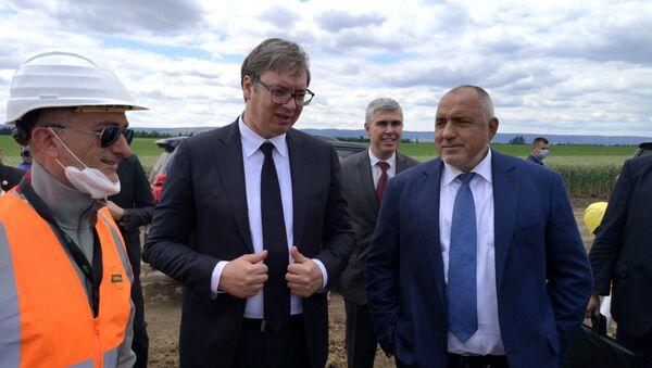 Aleksandar Vučić i Bojko Borisov - Sputnik Srbija